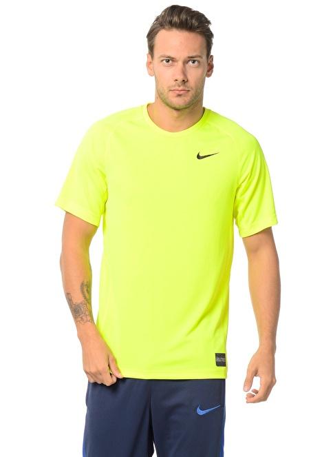 Nike Bisiklet Yaka Tişört Sarı